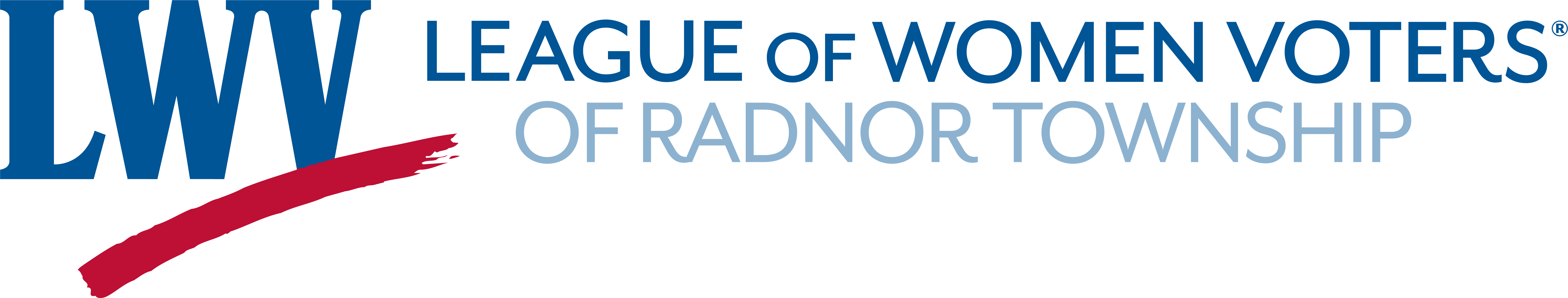 League of Women Voters of Radnor Township logo